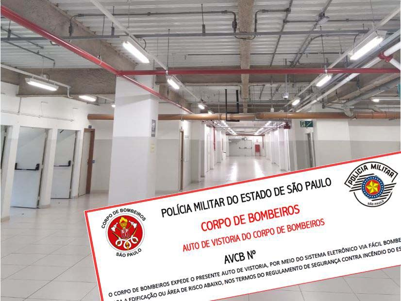 AUTO DE VISTORIA DO CORPO DE BOMBEIROS SÃO PAULO